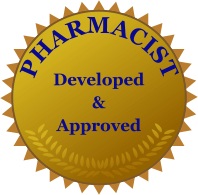 pharmacist approved seal