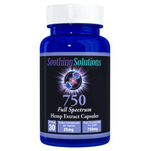 SS-CBD_Capsule_750_capsules bottle front angle